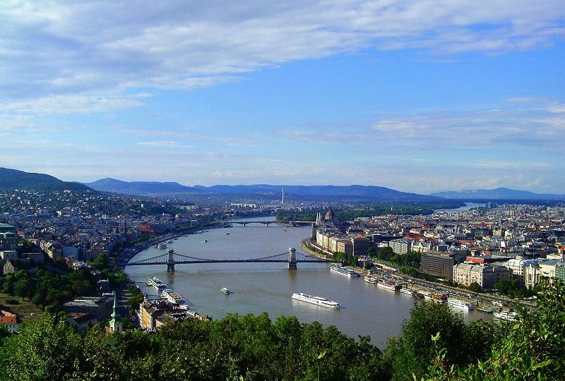 Reka Donava, Budimpešta