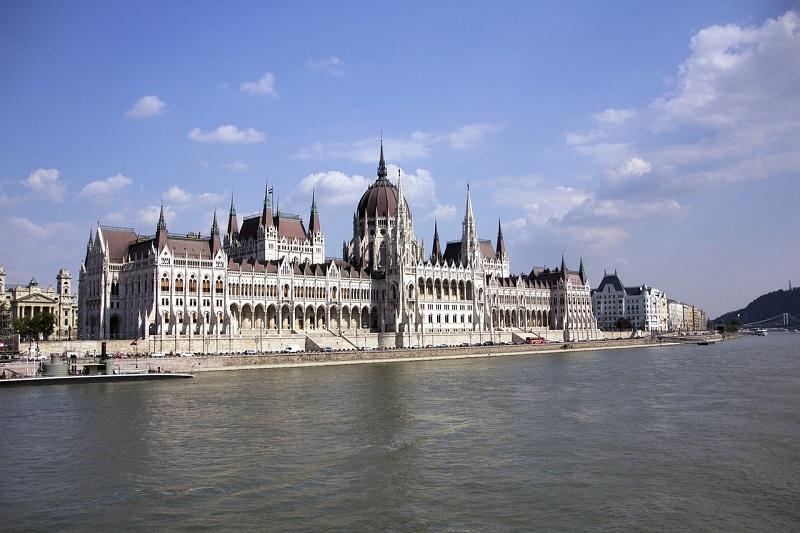 Budimpešta - parlament